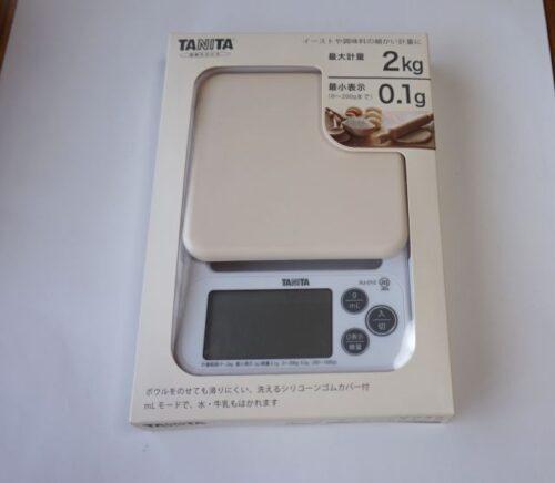 タニタ,計り,キッチンスケール,洗える,0.1g,単位,KJ-212